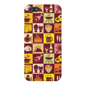 Food Pattern Cover For iPhone 5