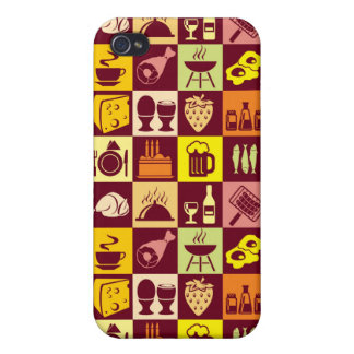 Food Pattern iPhone 4 Cover