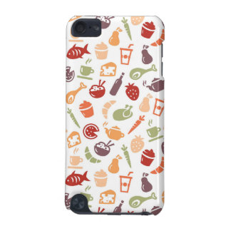 Food Pattern iPod Touch (5th Generation) Cover
