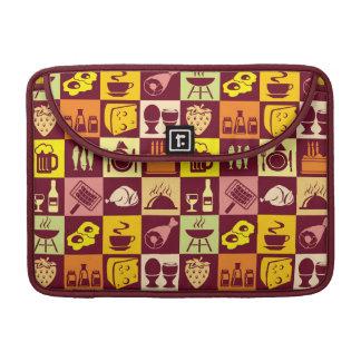 Food Pattern MacBook Pro Sleeve