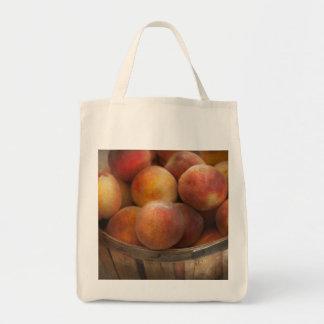Food - Peaches - Just Peachy Canvas Bag
