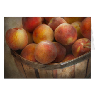 Food - Peaches - Just Peachy Card