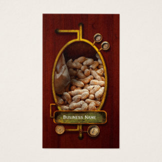 Food - Peanuts Business Card