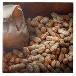 Food - Peanuts Ceramic Tile