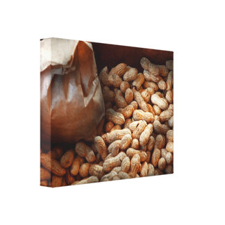 Food - Peanuts Stretched Canvas Prints