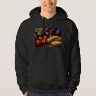 Food - Peppers, Tomatoes, Squash and Turnips Hoodie
