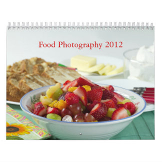 Food Photography 2012 Calendar