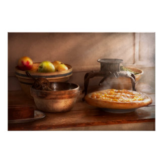 Food - Pie - Mama's peach pie Posters