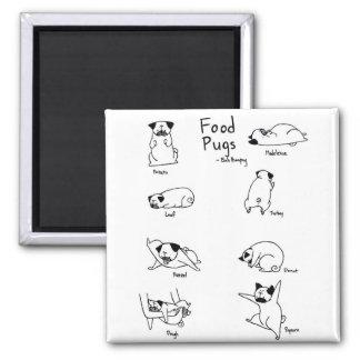 Food Pugs Magnet