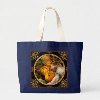 Food - Pumpkin - Summer still life Large Tote Bag