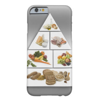 Food pyramid barely there iPhone 6 case