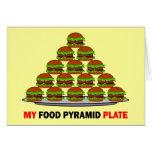 food pyramid cards
