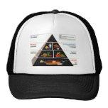 Food Pyramid Hats