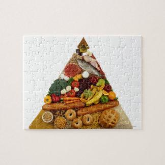 Food Pyramid Jigsaw Puzzle