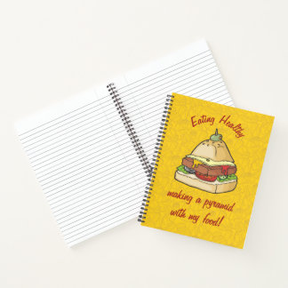 Food Pyramid Notebook