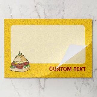 Food Pyramid Paper Pad