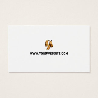 Food related business card- Banana painting Business Card