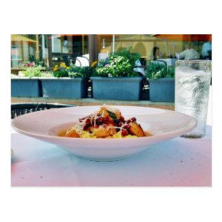 Food Restaurants Postcard