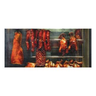 Food - Roast meat for sale Rack Cards