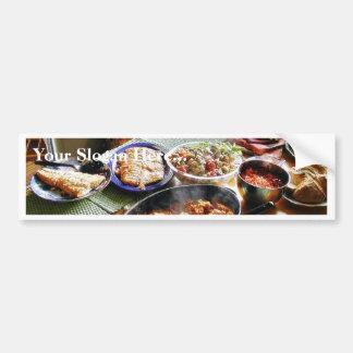Food Salmon Bumper Sticker