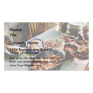 Food Salmon Double-Sided Standard Business Cards (Pack Of 100)