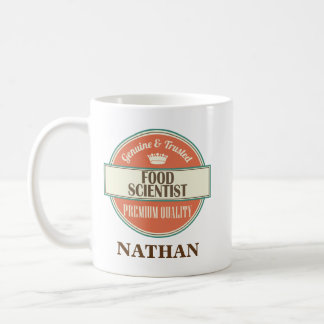 Food Scientist Personalized Office Mug Gift