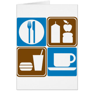 Food Services Highway Signs Collection Card