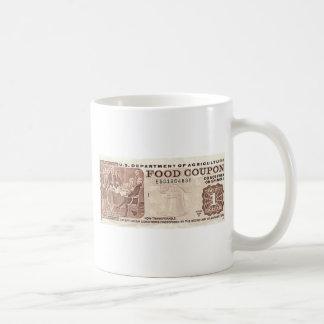Food Stamp Classic White Coffee Mug