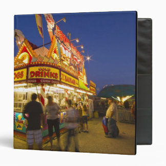 Food stand at the Northwest Montana Fair in 3 Ring Binder