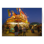 Food stand at the Northwest Montana Fair in Card