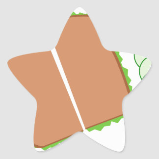 Food Star Sticker
