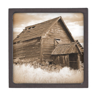 Food Storage Building ( Sepia ) Gift Box
