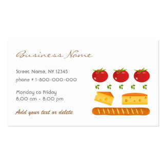 Food Store Business Card