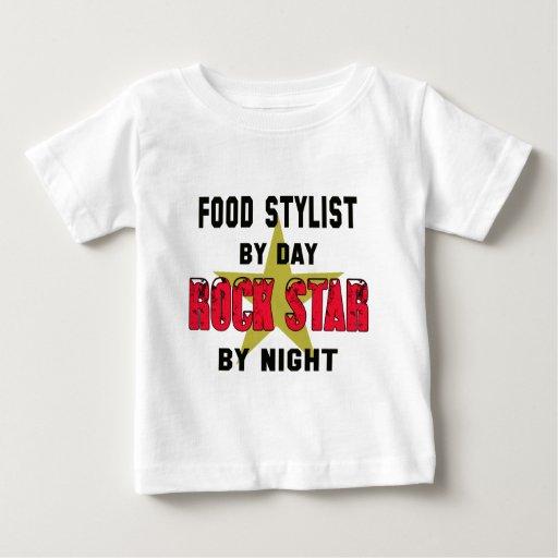 Food stylist by Day rockstar by night T-shirts T-Shirt, Hoodie, Sweatshirt