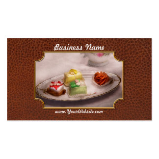 Food - Sweet - Cake - Grandma's treats Double-Sided Standard Business Cards (Pack Of 100)