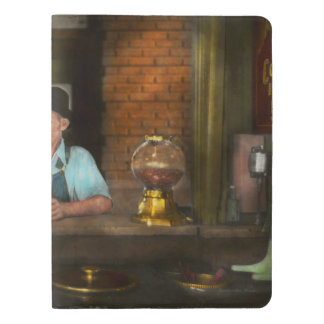 Food - Sweet - Malt Milk Mustache 1939 Extra Large Moleskine Notebook Cover With Notebook