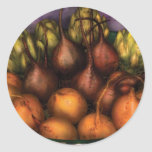 Food - The Harvest Classic Round Sticker