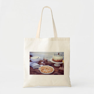 Food Themed, A Picture Containing A Plate Full Of Tote Bag