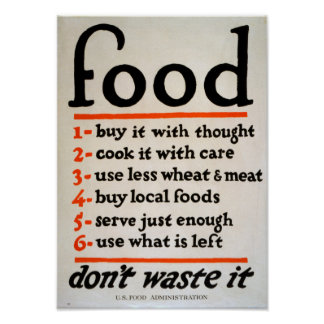 food tips poster
