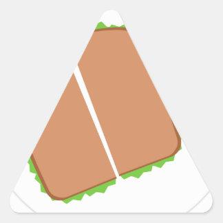 Food Triangle Sticker