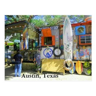 Food Truck, Austin Texas Postcard