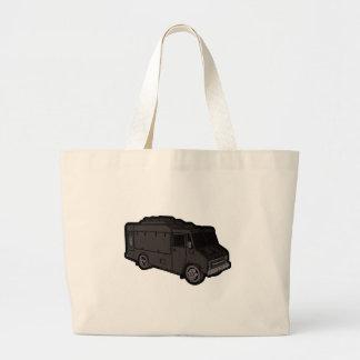Food Truck: Basic (Black) Tote Bag