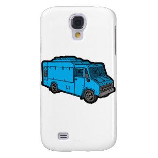 Food Truck: Basic (Blue) Samsung S4 Case