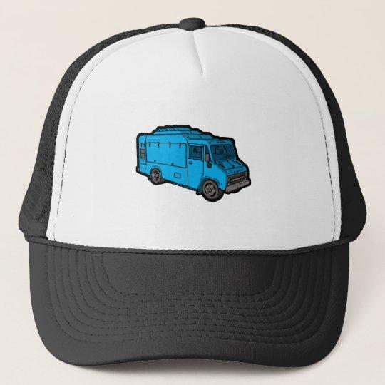 Food Truck: Basic (Blue) Trucker Hat