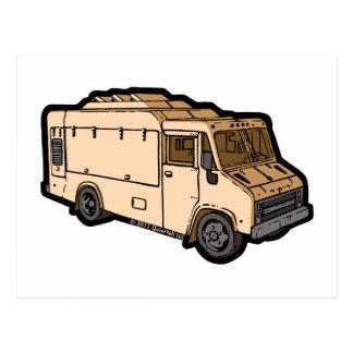 Food Truck: Basic (Cream) Postcards