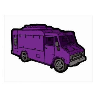 Food Truck: Basic (Purple) Postcard