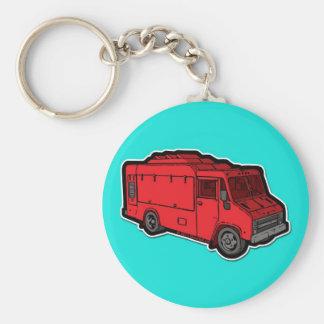 Food Truck: Basic (Red) Keychain