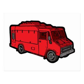 Food Truck: Basic (Red) Postcard