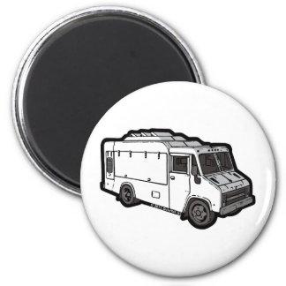 Food Truck: Basic (White) Magnet