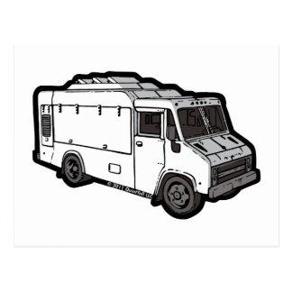 Food Truck: Basic (White) Postcard